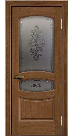 Дверь ЛайнДор Алина 2 дуб 5 стекло Алина 2