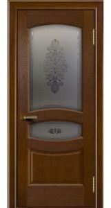 Дверь ЛайнДор Алина 2 тон 30 стекло Алина 2