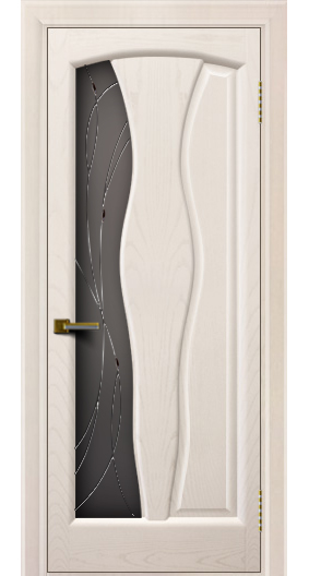 Дверь ЛайнДор Анжелика 2 жемчуг тон 27 стекло Анжелика