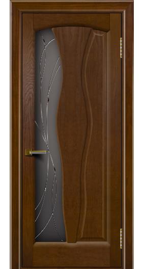 Дверь ЛайнДор Анжелика 2 тон 30 стекло Анжелика