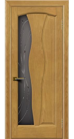 Дверь ЛайнДор Анжелика 2 ясень 24 стекло Анжелика