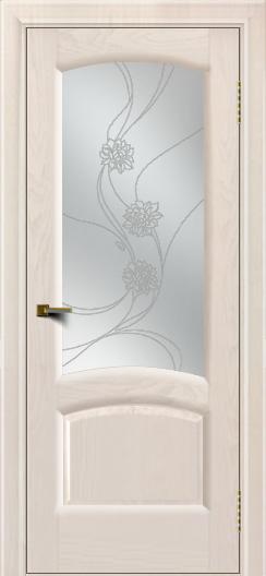 Двери ЛайнДор Анталия 2 жемчуг тон 27 стекло Астра наливка