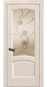 Дверь ЛайнДор Анталия 2 жемчуг 27 стекло Астра