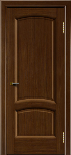 Двери ЛайнДор Анталия 2 орех тон 2 глухая