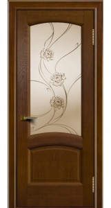 Дверь ЛайнДор Анталия 2 тон 30 стекло Астра