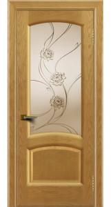 Дверь ЛайнДор Анталия 2 ясень 24 стекло Астра