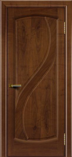 Дверь ЛайнДор Новый стиль американский орех 23 глухая