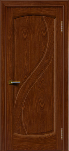Дверь ЛайнДор Новый стиль красное дерево глухая