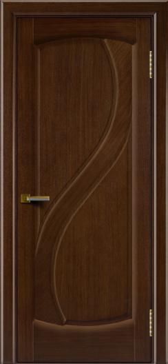 Дверь ЛайнДор Новый стиль орех 2 глухая