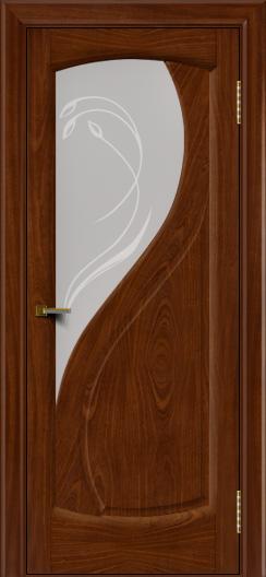 Двери ЛайнДор Новый стиль 2 тон 10 стекло Новый стиль светлое