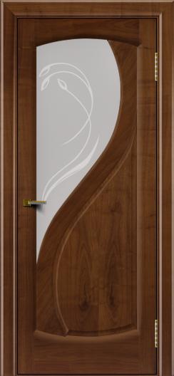 Двери ЛайнДор Новый стиль 2 тон 23 стекло Новый стиль светлое