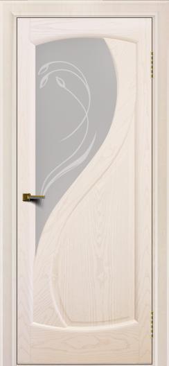 Двери ЛайнДор Новый стиль 2 тон 27 стекло Новый стиль светлое