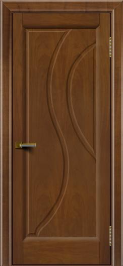 Дверь ЛайнДор Прага Американский орех 23 глухая