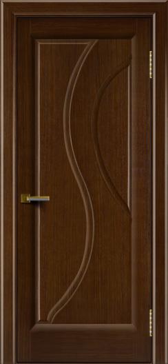 Двери ЛайнДор Прага 2 Орех 2 глухая