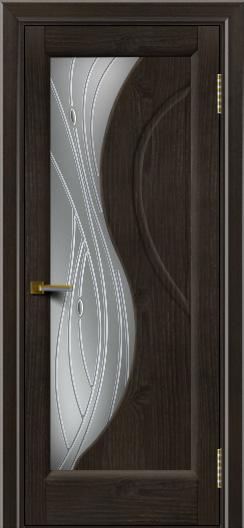 Дверь ЛайнДор Прага 2 Тон 31 стекло Волна