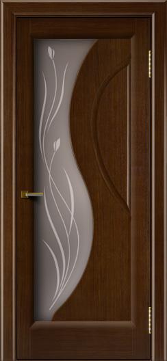 Двери ЛайнДор Прага 2 тон 2 стекло Прага