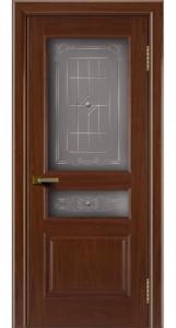 Двери ЛайнДор Калина вишня тон 6 стекло Калина