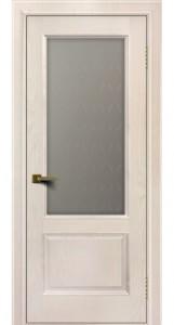 Двери ЛайнДор Кантри жемчуг тон 27 стекло Кантри 1