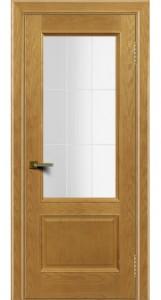 Двери ЛайнДор Кантри ясень тон 24 стекло Решетка