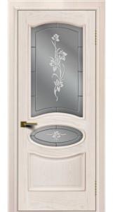 Двери ЛайнДор Оливия жемчуг тон 27 стекло Оливия