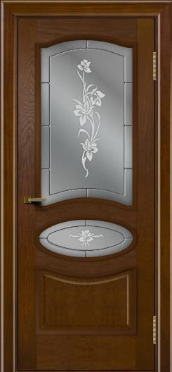 Двери ЛайнДор Оливия тон 30 стекло Рим