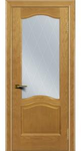 Двери ЛайнДор Пронто ясень тон 24 стекло Лондон светлое