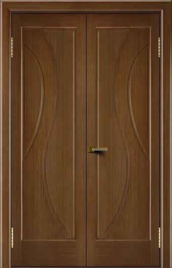 Двери Лайндор модель Прага дуб 5 двойная