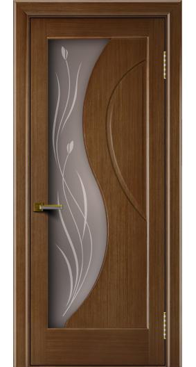 Двери Лайндор модель Прага дуб 5 стекло прага