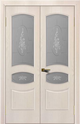 Двери ЛайнДор Алина жемчуг тон 27 двойная