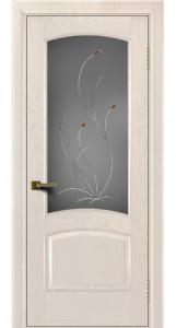 Двери ЛайнДор Анталия жемчуг тон 27 стекло Ковыль