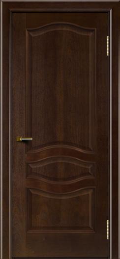 Двери ЛайнДор Амелия красное дерево тон 18 глухая