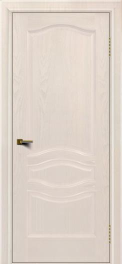 Двери ЛайнДор Амелия ясень жемчуг тон 27 глухая