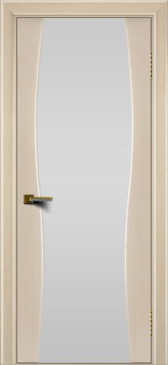 Двери ЛайнДор Арабика беленый дуб тон 16 стекло Белое