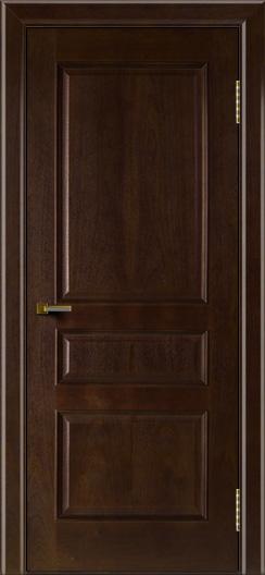 Двери ЛайнДор Калина красное дерево тон 18 глухая