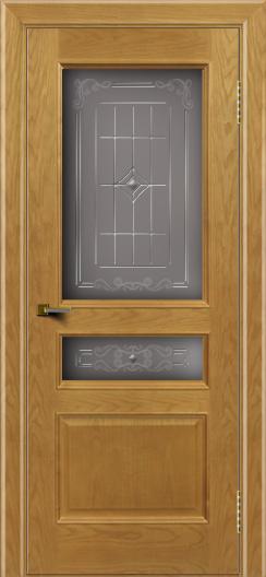 Двери ЛайнДор Калина ясень тон 24 стекло Калина