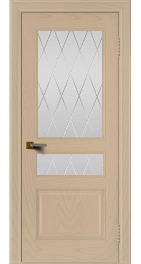 Двери ЛайнДор Калина ясень тон 3 стекло Лондон