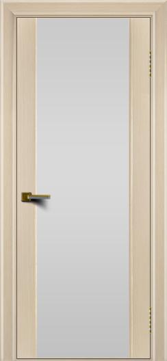 Двери ЛайнДор Камелия беленый дуб тон 16 стекло Белое