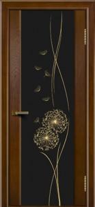 Двери ЛайнДор Камелия тон 30 стекло Одуванчик