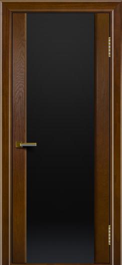 Двери ЛайнДор Камелия тон 30 стекло Черное