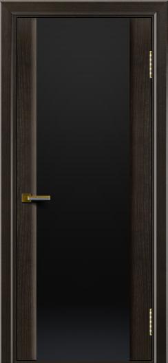 Двери ЛайнДор Камелия тон 31 стекло Черное