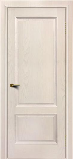 Двери ЛайнДор Кантри ясень жемчуг тон 27 глухая
