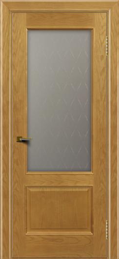 Двери ЛайнДор Кантри ясень тон 24 стекло Ромб