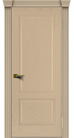 Двери ЛайнДор Кантри ясень тон 3 глухая капитель 3 эл.