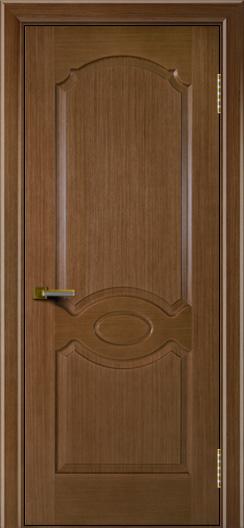 Двери ЛайнДор Карамелька дуб тон 5 глухая