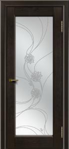 Двери ЛайнДор Мальта 2 тон 31 стекло Астра наливка