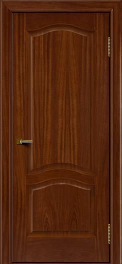 Двери ЛайнДор Пронто красное дерево тон 10 глухая