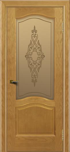 Двери ЛайнДор Пронто ясень тон 24 стекло Айрис бронза