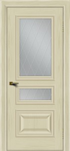 Двери ЛайнДор Агата тон 34 стекло Лондон