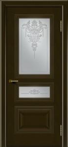 Двери ЛайнДор Агата тон 35 стекло Версаль