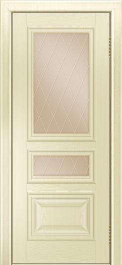 Двери ЛайнДор Агата тон 42 стекло Лондон бронза